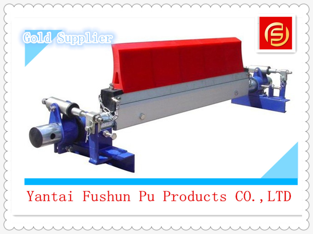 Polyurethane Conveyor Belt Roller Scraper Cleaner