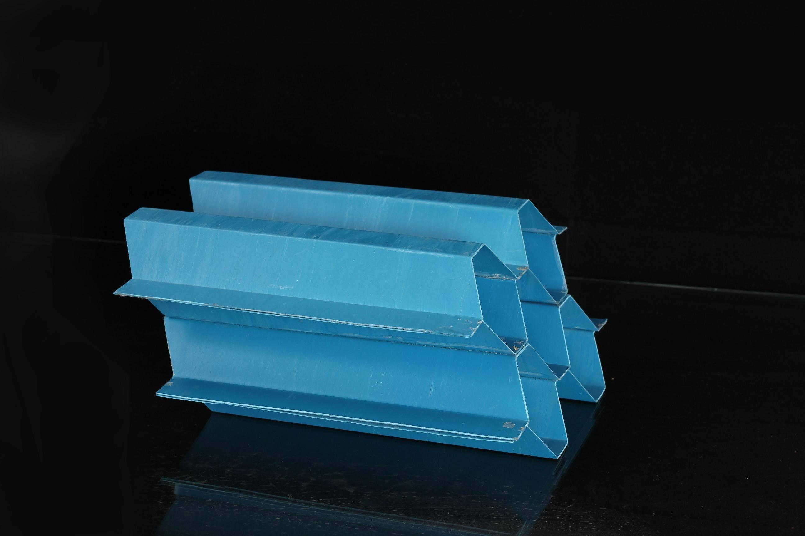 PVC tube settler