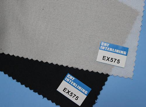 woven fusible enzyme wash interlining-EX575(interfacing)