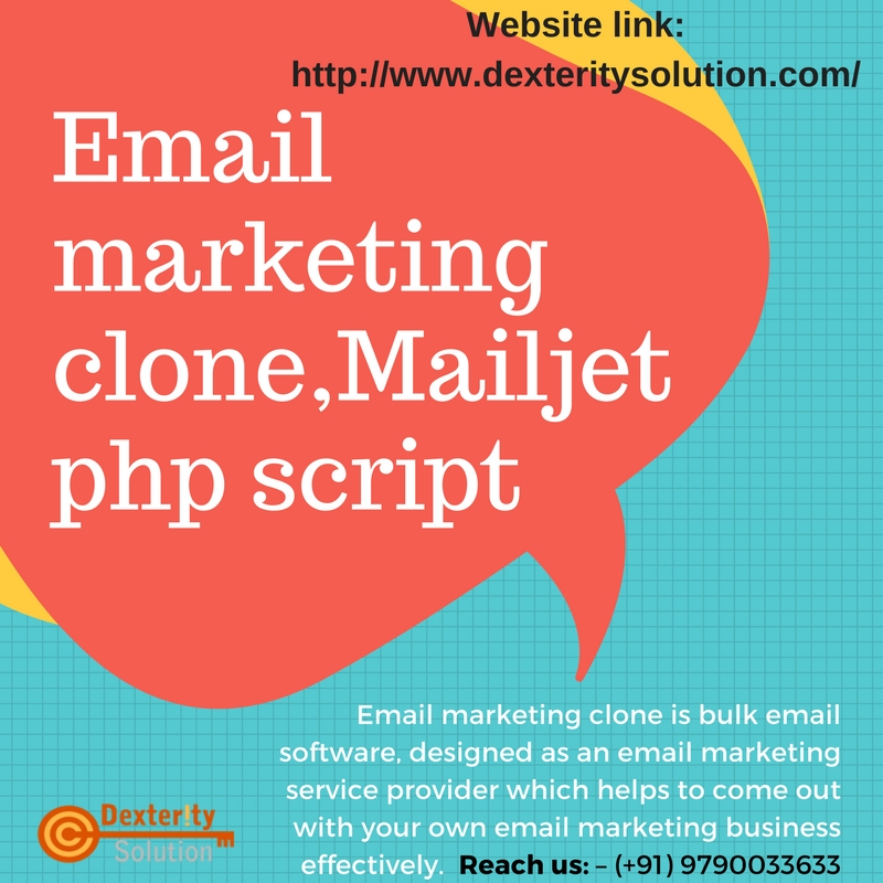 Email marketing clone, Constant Contact script