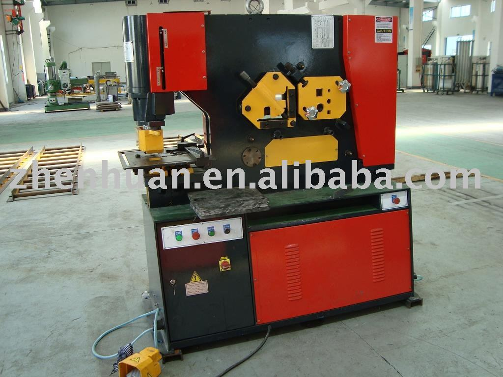 hydraulic punching shearer, iron worker, punching and shearing machine