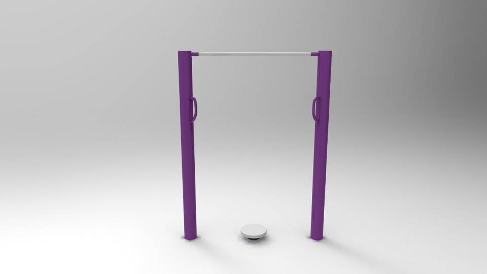 vertical waist twister