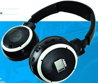 c-188s educational wireless headphone/language teaching wireless headphone  with fm radio,LCD displa