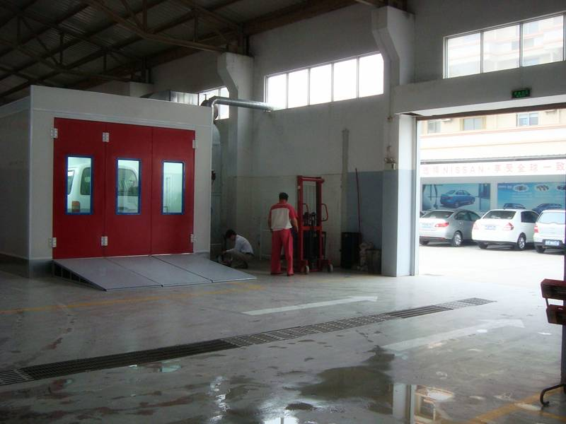 Repair Workshop Painting Room Spray Paint Booth