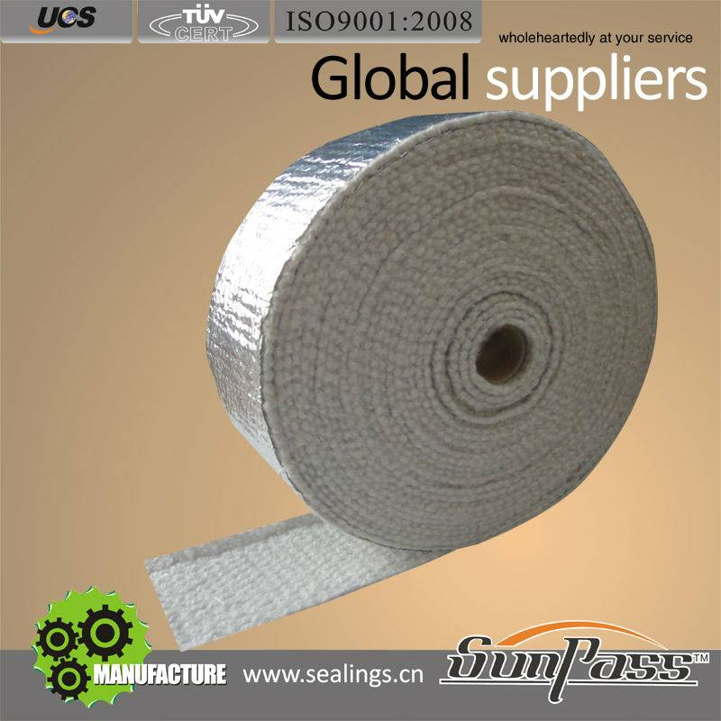 Supply Good Quality Insulation Alluminium Foil Ceramic Fiber Tape