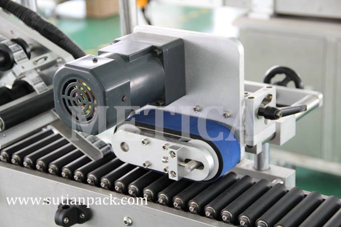 Automatic Horizontal Labeling Machine for Small Round Bottle