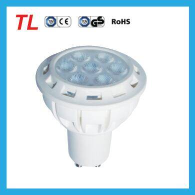 china supplier aluminum-plastic cup lamp GU10 7W spotlight E14/E27 led light 7W 580lm 38 degree HOT