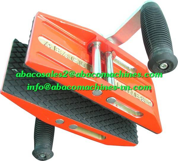 MARBLE GRANITE STONE SLAB DOUBLE HAND CARRY CLAMPS TOOL - ABACO -