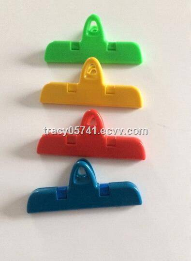 Plastic Food Storage Bag Sealing Clamp Clip