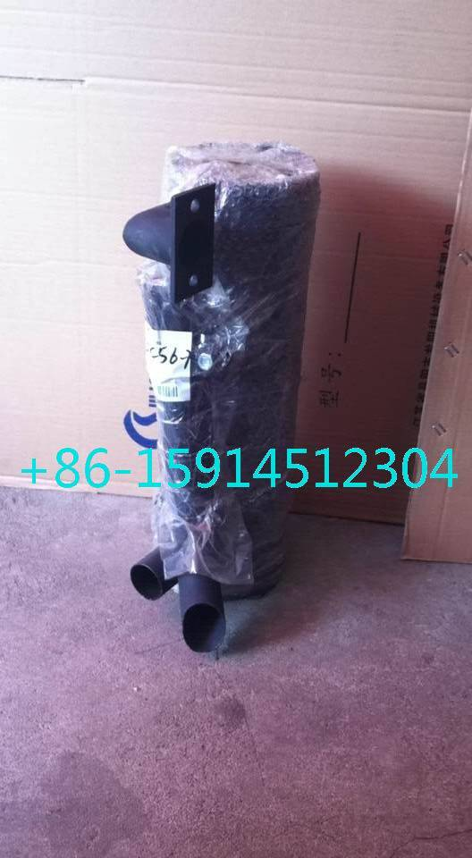 4900562 komatsu PC56-7 muffler with tube