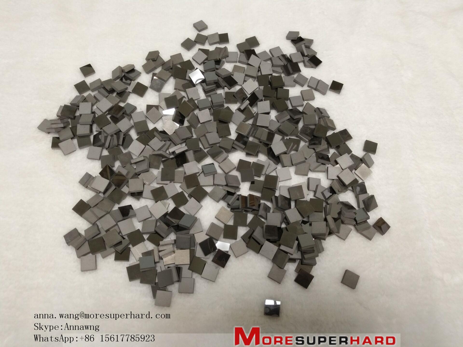 Polycrystalline Diamond (PCD)/PCD cutting tool blanks