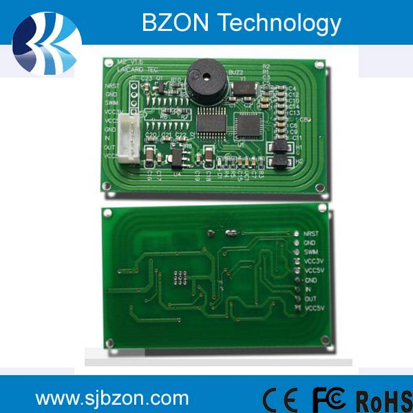 13.56MHz frequency reader module