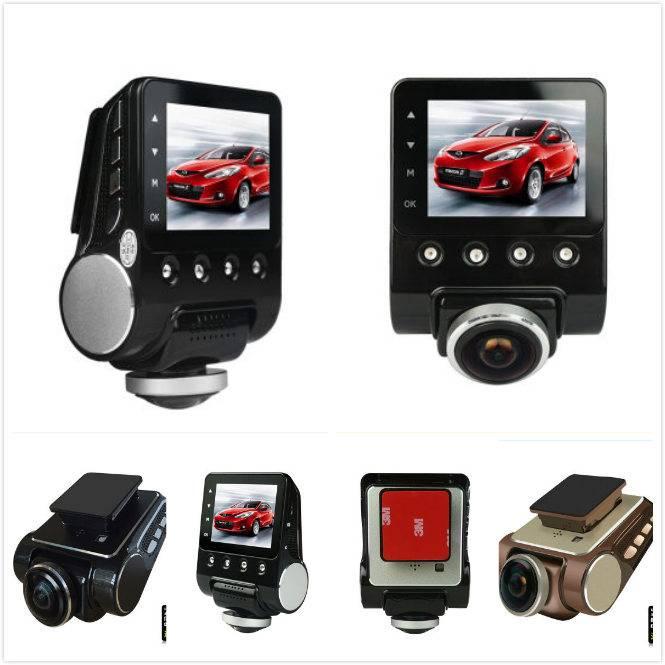 360 degree panoramic car recording CCTV camera