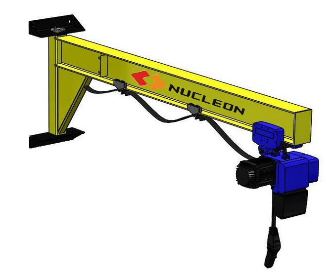 Nucleon Crane Wall Slewing JIb Crane 3 ton