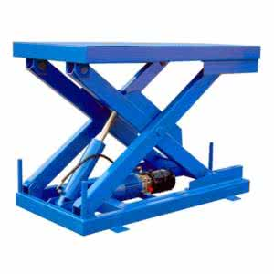Fixed hydraulic lifting platform