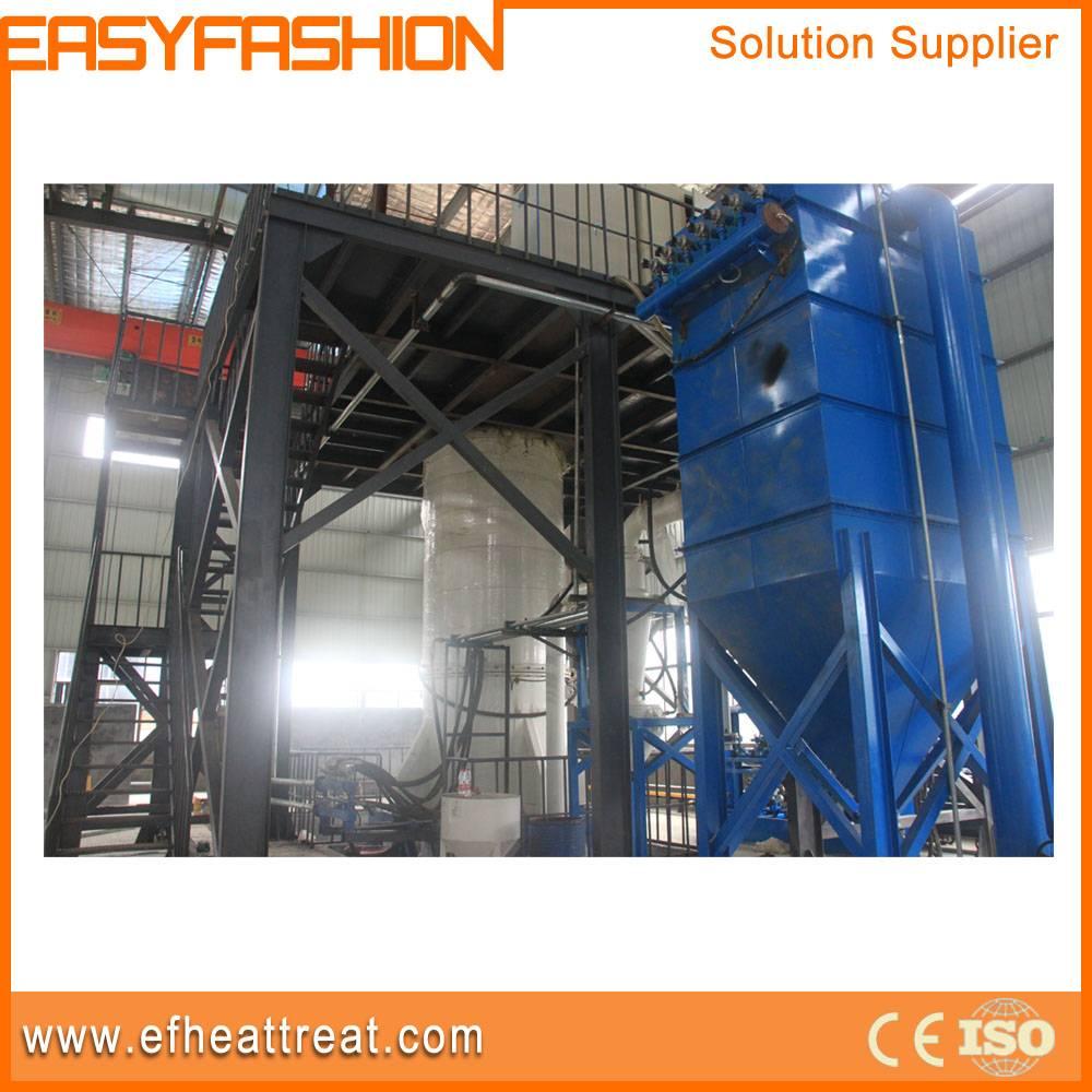 Metal powder atomization equipment with induction melting furnace