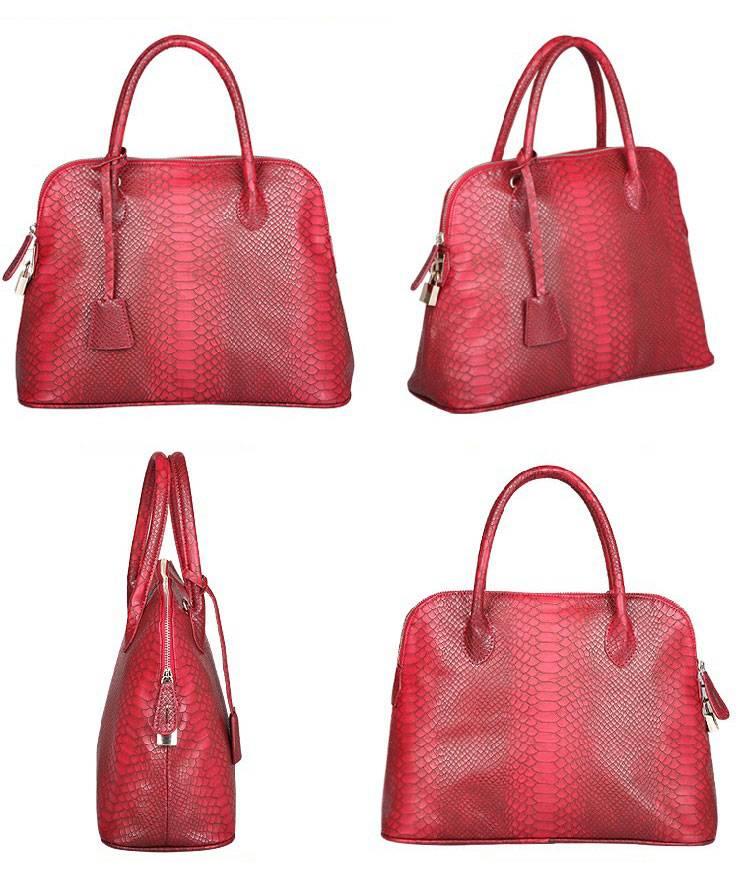 Fashion PU Leather Handbag Shoulder Bag Messenger Bag