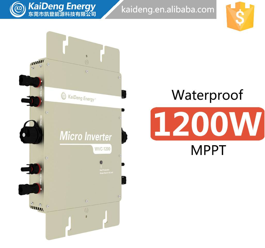 High power solar inverter WVC1200 manufacturer in dongguan Waterproof IP65