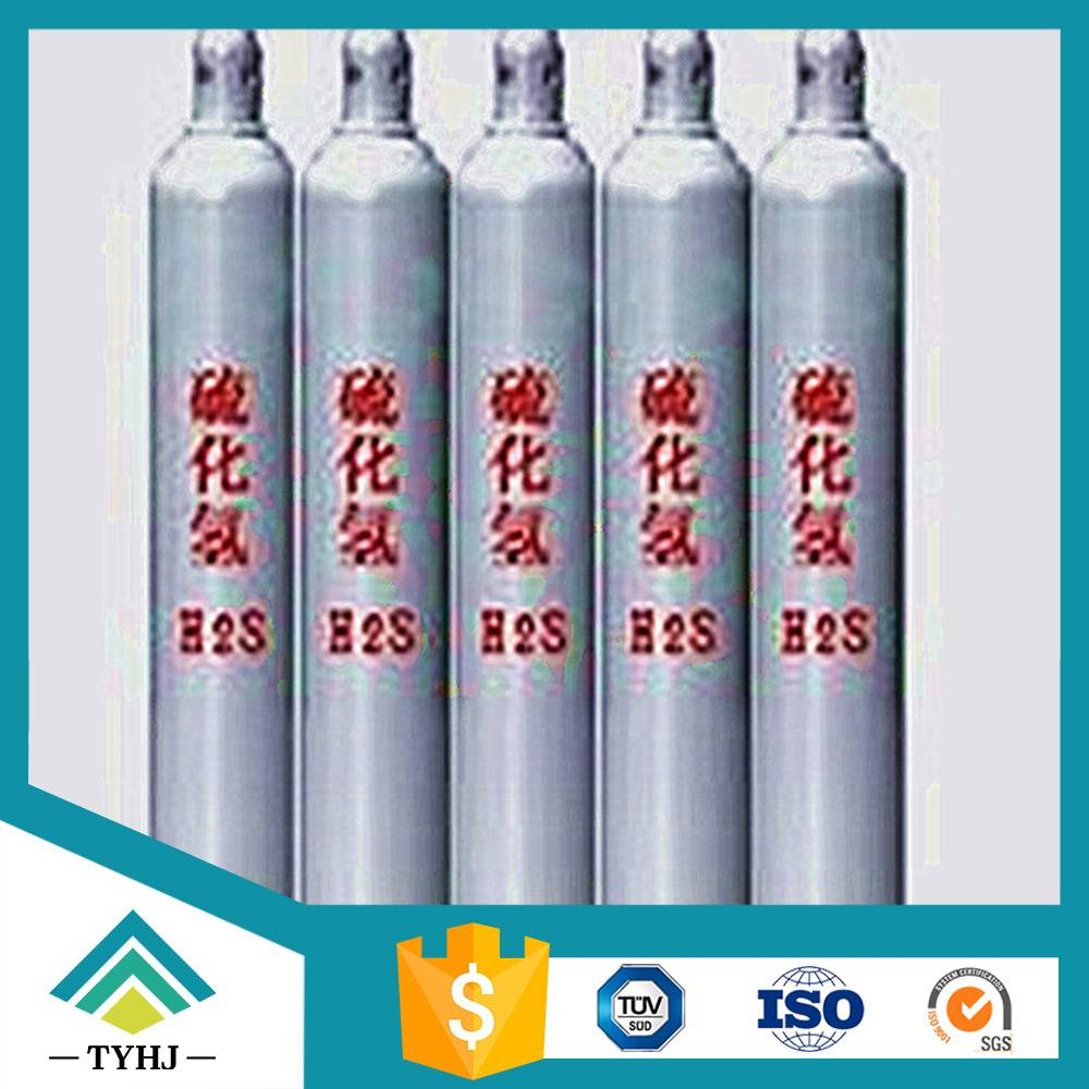 Supply 99.9%-99.999% Hydrogen Sulfide H2S Gas
