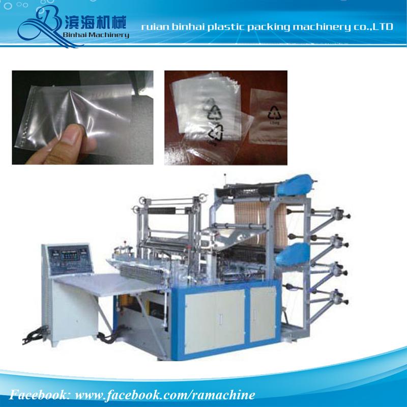 Four Lines Plastic Bag Making Machine