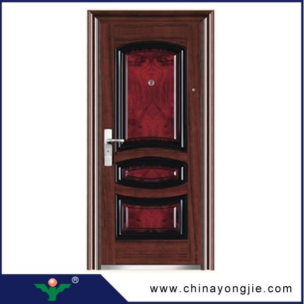 Zhejiang yongkang yongjie low price steel security door Quality Assured