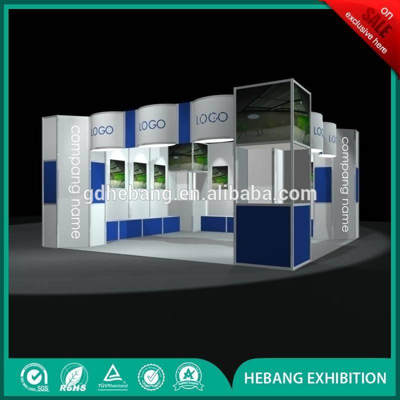 trade fair booth design for exhibition
