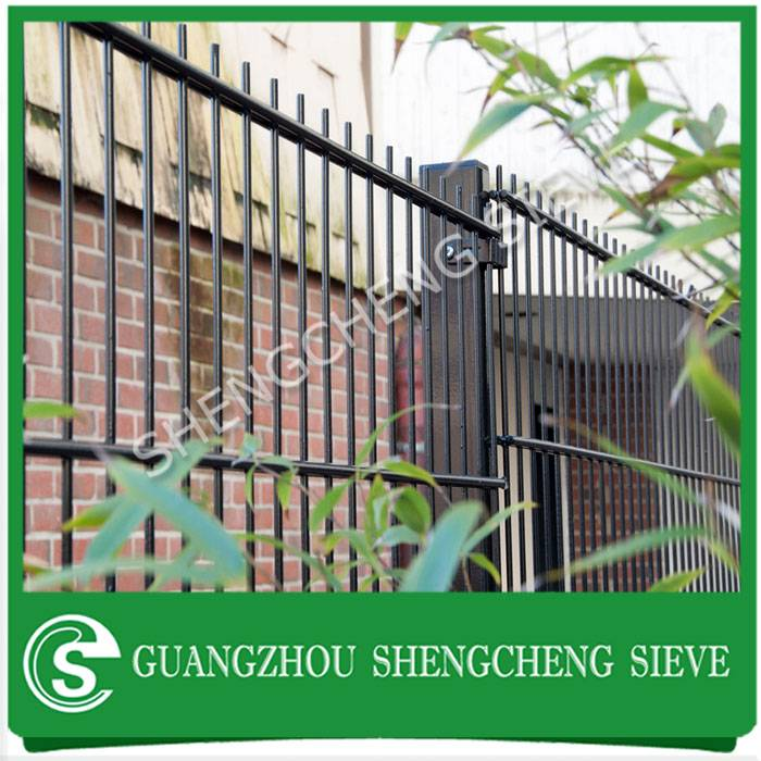 USA popular security enclosure Nylofor 2D fence for sale