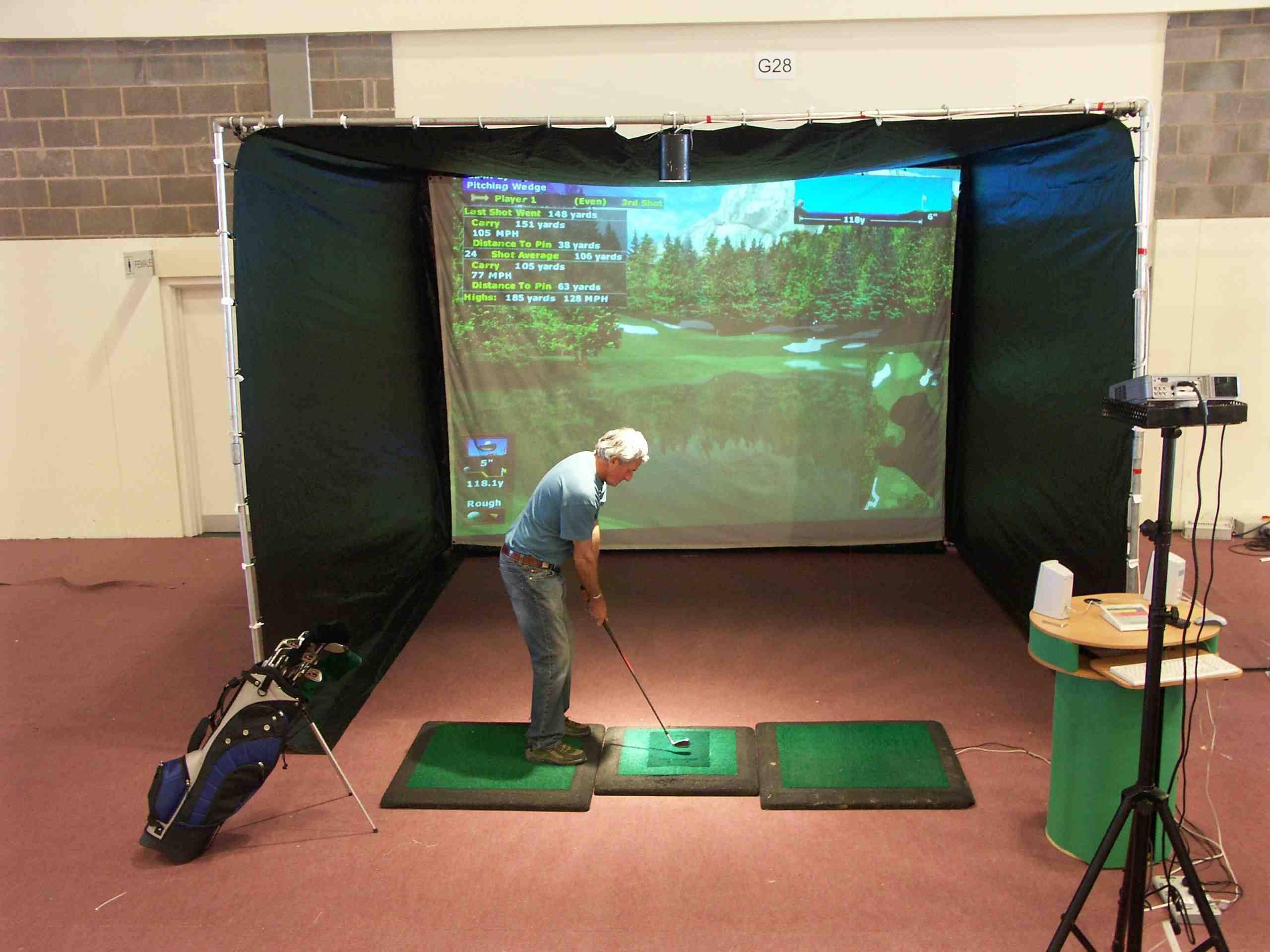 Golf Simulator; Indoor Golf