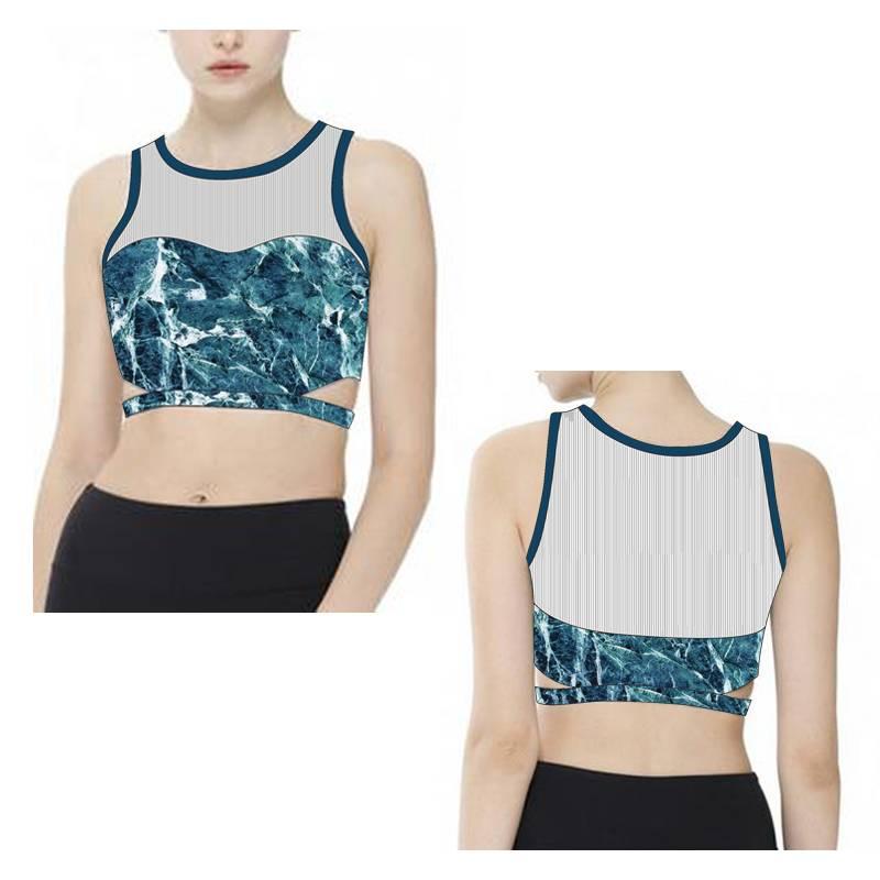 Wholesale Ladies Custom Hot Sexy Women's Running Yoga Sports Bra