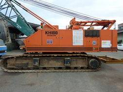 Used Hitachi 50t KH180 Crawler Crane
