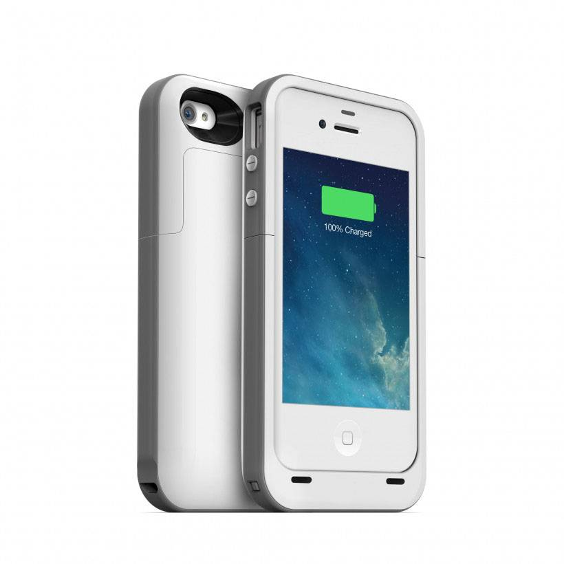 2000mAh Portable External Backup Battery Charger Case Power Bank For iPhone 4 4S