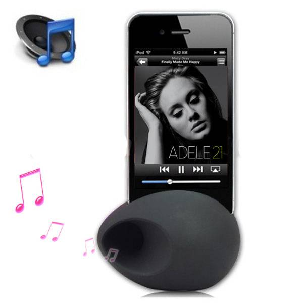 Wholesale 2013 New Egg Silicone Iphone Amplifier