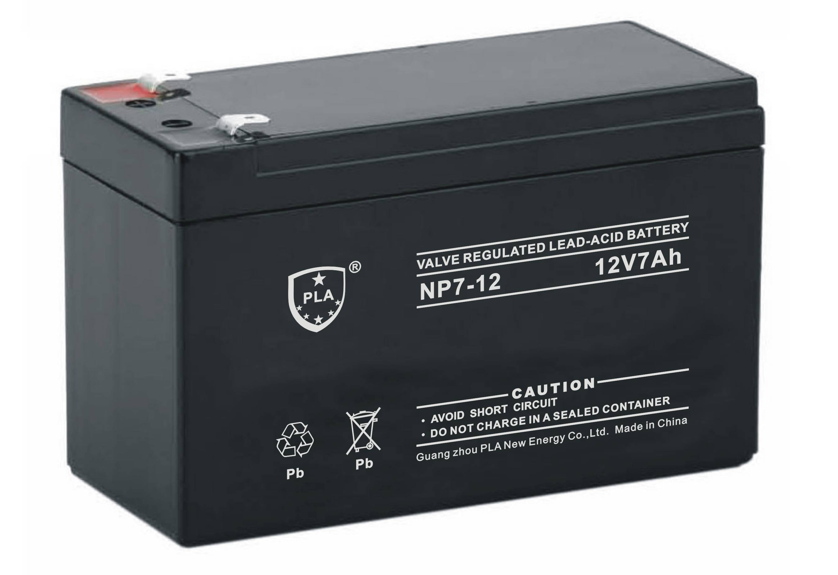 12V7Ah Rechargeable Lead Acid Solar Battery for UPS