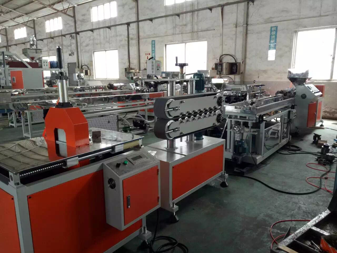 High quality plastic profile extrusion dies ce iso china pvc profile production line