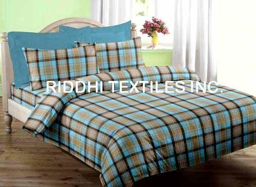Tartan Plaid Cotton Bedspreads