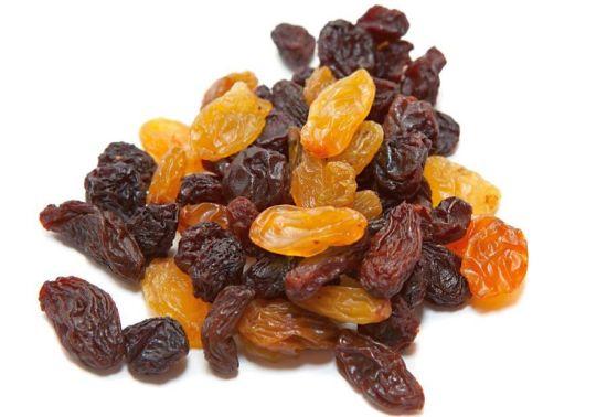Dried Raisin, groundnuts (peanuts),hazelnuts (filberts)