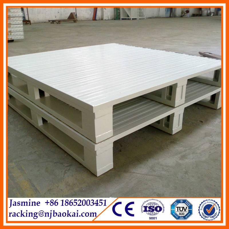 Warehouse Storage Heavy Duty Steel Rack Pallet