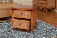 rattan bedroom furniture rattan beside table