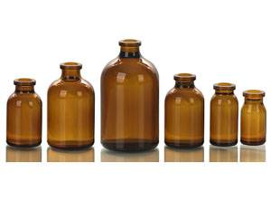 Different Kinds of Moulded Injection Glass Bottle