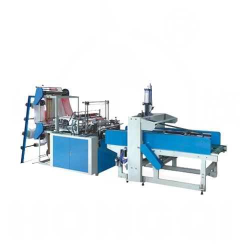 T-shirt bag automatic making machine equipment