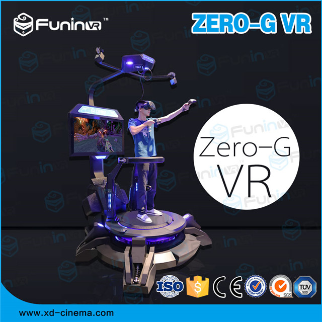 FUNINVR ZHUOYUAN Omni-directional Foot-controlling Flight Simulator for sale