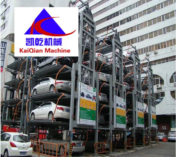 Multi-Layer Lift-Sliding Mechanical Type Car Parking System