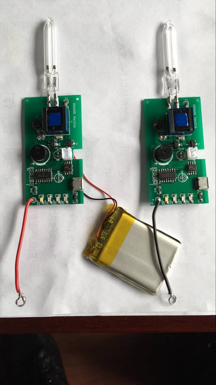 LAMPS & PCB TOOTHBRUSH STESILIZER