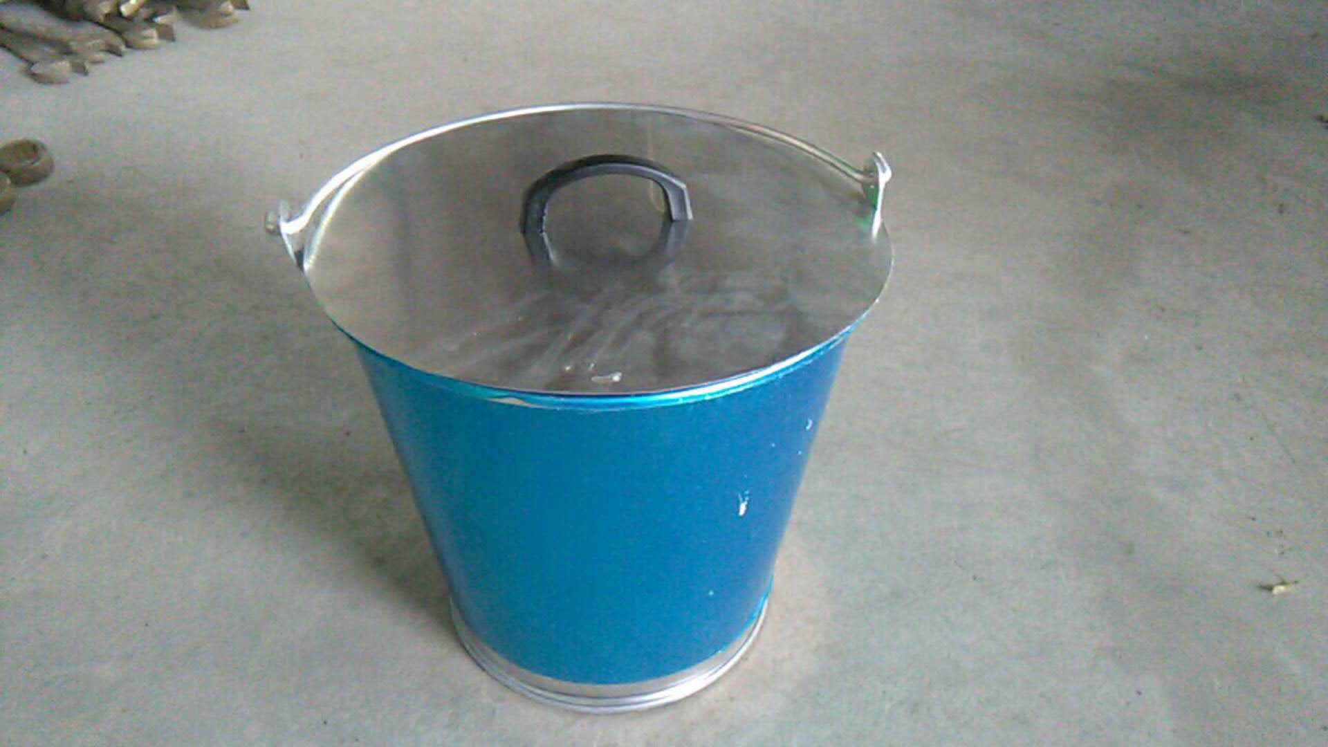 NON SPARKING OIL DRUM FIRE BUCKET ,250260MM