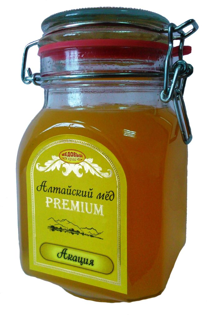 Honey natural Russia