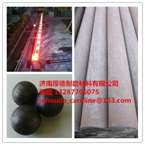 forged rolling grinding media steel ball with B2 60mm