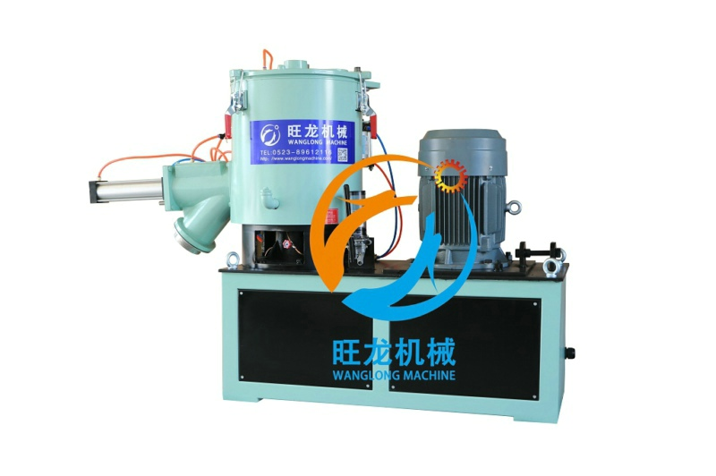 Vertical high speed mixing machine