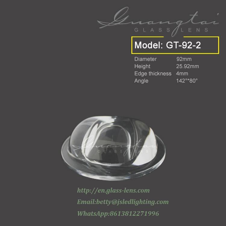 led street light 92NA /30-60w led street light lens