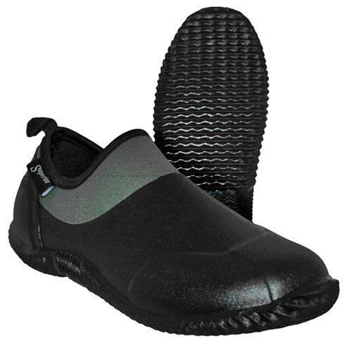 Green neoprene boots gardening shoes