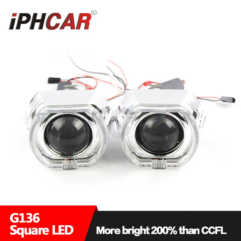 IPHCAR 3 inch 35W 12V Hid bi-xenon projector lens car headlight lamp
